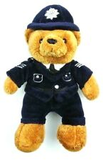 Harrods 8 inch Policeman Plush Teddy Bear