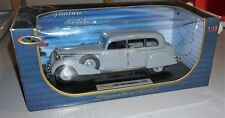 1938 Mercedes Benz 770K Gray Signature Models 1/18 Diecast New In Box.