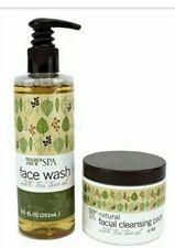 Trader Joe's Spa Face Wash Tea Tree Oil & Natural Facial Cleansing Pads 50