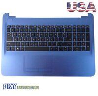 NEW Genuine HP 15-AC 15-AF Palmrest w/ Keyboard & Touchpad 813978-001