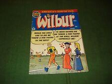 WILBUR COMICS #40, 1951, MLJ PUBLICATIONS, ARCHIE, KATY KEENE