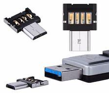 2 x Micro USB Typ B mini OTG Adapter Stecker auf USB Buchse Typ A 2.0 Host Stick