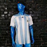 Argentina Team Jersey Home football shirt 2006 - 2007 Adidas 739802 Mens SIze L