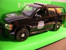 1/24 welly chevrolet tahoe police 22509bp-w