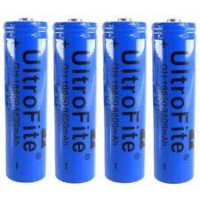 4x Hochleistung Power Akku 18650 Lithium Ionen je 8800 mAh 4.2V Batterie li-ion