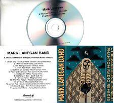 MARK LANEGAN BAND  A Thousand Miles Of Midnight 2015 UK 14-trk promo test CD