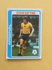 Arsenal Football Trading Cards 1979-1980 Season