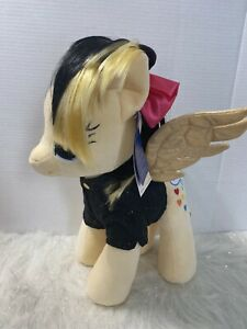 Build a Bear My Little Pony Songbird Serenade Sia Stuffed Pegasus Plush NWT Tags