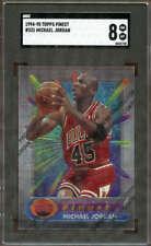1994-1995 Topps Finest Basketball #331 Michael Jordan SGC 8 4443728