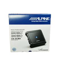 Alpine Mrv-M500 500 Watt Rms Mono Amplifier Class D Digital Car Amp