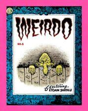 "WEIRDO #1, 1981, FIRST PRINTING, ROBERT CRUMB, LAST GASP ""RARE"" NM+/M"