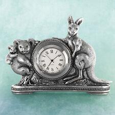 Kangaroo/Koala Australian Souvenir Clock Australiana Gift, Australian Made