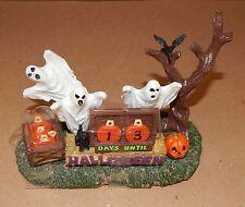 Halloween Spooky Town Halloween Countdown Lemax #63264 Ghosts/Pumpkins  NIB 117N