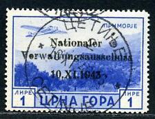 Montenegro Mi 16 °  gepr.  240,-