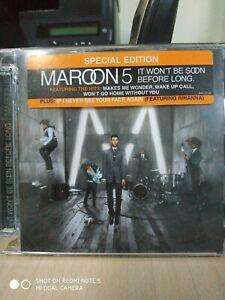 MAROON 5 It Won't Be Soon Before Long CD Special Edition Bonus Tracks CD APERTO