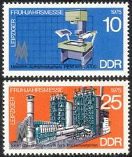 Germany 1975 Leipzig Fair/Camera/Cement Works/Business/Commerce 2v set (n44577)