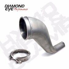 """Hx40 Turbo Downpipe Kit W Clamp 4"""" Al fits 94-02 Dodge Cummins 5.9L Diesel"""