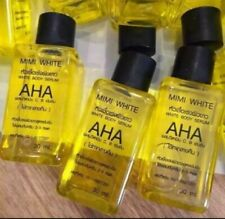 4x Mini White AHA 30ml Whitening Body Serum Mixed Vitamins C&B Brightening Skin