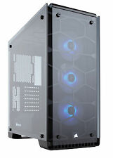 Corsair Crystal Series 570x Case Tempered Glass Mid-tower With 3 Sp120 RGB