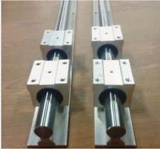 SBR25-2500mm Guida Di Scorrimento Lineari 25 mm ALBERO 2 RAIL +4SBR25UU Set di blocco del cuscinetto J