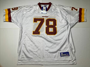 NEW Reebok BRUCE SMITH No. 78 WASHINGTON REDSKINS On-Field (XL) Jersey