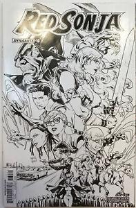 Red Sonja #16 Black & White Variant Edition Dynamite Comics NM