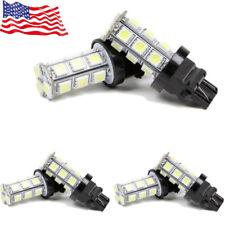 6 X White 3157 18SMD 5050 LED Reverse Back up Light 12V 3156 3057 3457 US Sale