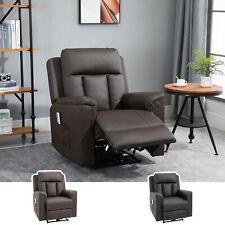 HOMCOM Relaxsessel mit Massagefunktion Heizfunktion Fernsehsessel