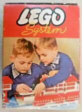 Vintage Lego - System Set #283 20 Blue Ridge & Valley Roof Bricks  C1960-1965 #1