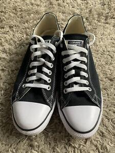 Converse Trainer Low Black White Uk10