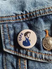 Robin Friday 'gesture' Cardiff City FC legend - 25mm diameter small badge
