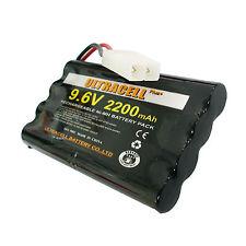 9.6V 8 AA(2X4) 2200mAh NIMH Rechargeable Battery Pack TAMIYA Plug US Stock