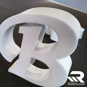 LED 3D BUCHSTABEN - Profilbuchstaben