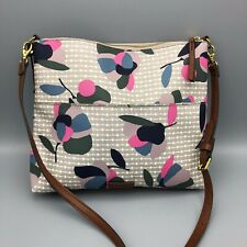 Fossil Fiona Large Crossbody Bag Floral Multi Color