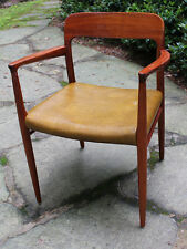 Danish Teak Moller Dining Arm Chair Model 56