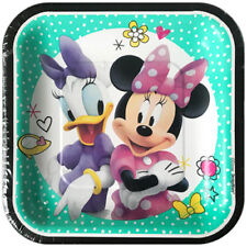 Birthday Child Minnie Mouse Party Plates For Sale Ebay