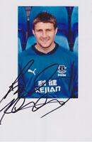 Steven Gerrard - original signiertes Foto 10x15cm - FC Liverpool - FC Everton