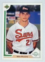 1991 Upper Deck Mike Mussina #65 Rookie Card RC Baltimore Orioles HOF