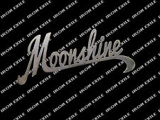Moonshine Alcohol Whisky Metal Sign Ornament Decor USA Made Plasma Cut Word