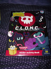 BRAND NEW Paperback Book Moshi Monsters C. L. O. N. C. Sticker Activity Book