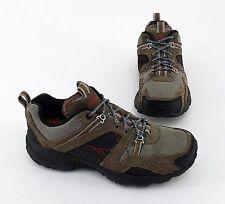 Reebok DMX Nordic Walking Schuhe Sneaker Echtleder Textil braun Gr. 37