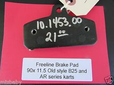 Genuine Freeline overstocked 90x11.5 rear brake pad priced $21 each (retail 30$)