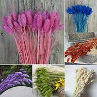 Dried Artificial Flowers Arrange Flower Head Fake With Stem Home Wedding Decor