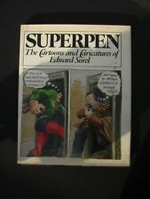 SUPERPEN The Cartoons and Caricatures of Edward Sorel 1978 Hard Cover 1st Editio
