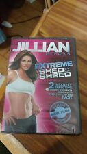 Jillian Michaels - Extreme Shed & Shred - Dvd brand new unopened