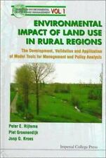 ENVIRONMENTAL IMPACT OF LAND USE IN RURAL REGIONS - NEW HARDCOVER BOOK