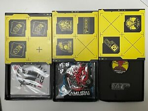 NEW Cyberpunk 2077 Patches  Pins and Sticker Set Collectors Edition Collectable