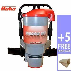 Hako Shadow Vacuum Backpack Cleaner +5 Bag