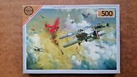 Encounter with the Red Baron 500 Piece Jigsaw Puzzle by Falcon