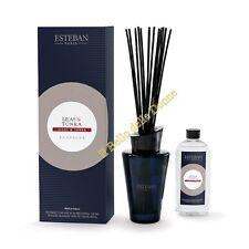 ESTEBAN Vaso vetro diffusore profumo casa LILAS & TONKA 150ml lillà bacchette
